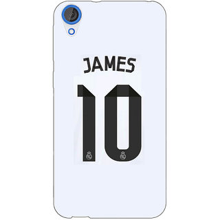 EYP Real Madrid James Rodriguez Back Cover Case For HTC Desire 820 Dual Sim 300592