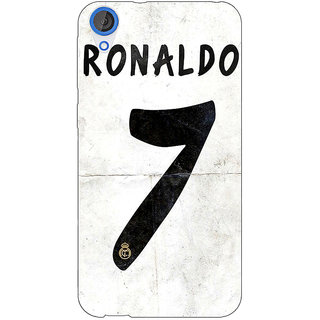 EYP Real Madrid Ronaldo Back Cover Case For HTC Desire 820 Dual Sim 300598