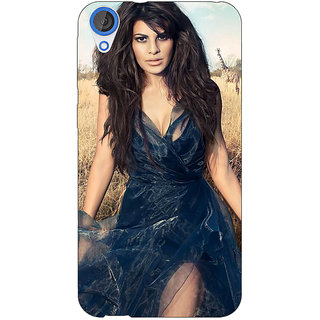 EYP Bollywood Superstar Jacqueline Fernandez Back Cover Case For HTC Desire 820Q 290992