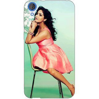 EYP Bollywood Superstar Yami Gautam Back Cover Case For HTC Desire 820Q 291076