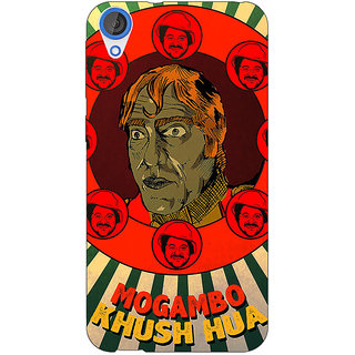 EYP Bollywood Superstar Mr. India Mogambo Back Cover Case For HTC Desire 820Q 291108