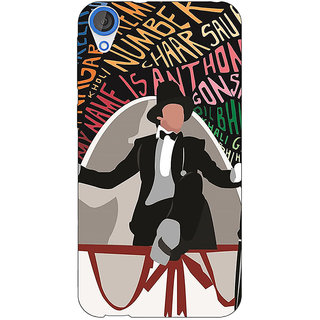 EYP Bollywood Superstar Anthony Gonsalves Back Cover Case For HTC Desire 820Q 291117