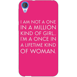 EYP Quote Back Cover Case For HTC Desire 820Q 291343
