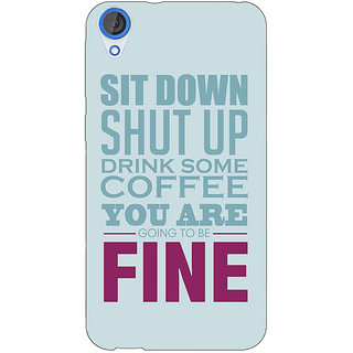 EYP Quote Back Cover Case For HTC Desire 820Q 291346