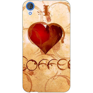 EYP Coffee Quote Back Cover Case For HTC Desire 820Q 291362