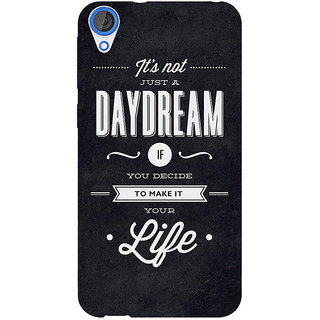 EYP Quote Back Cover Case For HTC Desire 820 281471