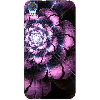 EYP Abstract Flower Pattern Back Cover Case For HTC Desire 820Q 291502
