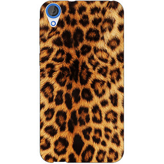 EYP Cheetah Leopard Print Back Cover Case For HTC Desire 820 Dual Sim 300080