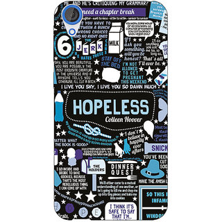 EYP TFIOS HOPELESS  Back Cover Case For HTC Desire 820 Dual Sim 300108
