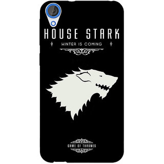 EYP Game Of Thrones GOT House Stark  Back Cover Case For HTC Desire 820 Dual Sim 300132
