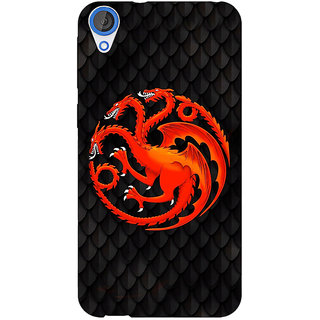 EYP Game Of Thrones GOT House Targaryen  Back Cover Case For HTC Desire 820 Dual Sim 300138