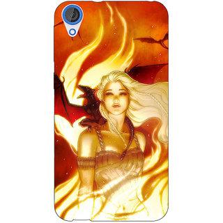 EYP Game Of Thrones GOT House Targaryen  Back Cover Case For HTC Desire 820 Dual Sim 300146