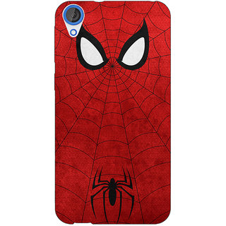 EYP Superheroes Spider Man Back Cover Case For HTC Desire 820 Dual Sim 300340