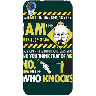 EYP Breaking Bad Heisenberg Back Cover Case For HTC Desire 820 Dual Sim 300420