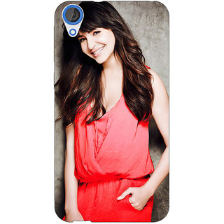 EYP Bollywood Superstar Anushka Sharma Back Cover Case For HTC Desire 820 Dual Sim 301031