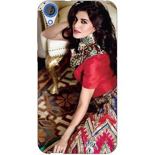 EYP Bollywood Superstar Jacqueline Fernandez Back Cover Case For HTC Desire 820 Dual Sim 301051