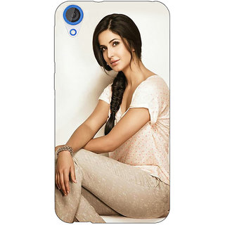 EYP Bollywood Superstar Katrina Kaif Back Cover Case For HTC Desire 820 Dual Sim 301055