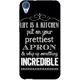 EYP Chef Quote Back Cover Case For HTC Desire 820 Dual Sim 301203