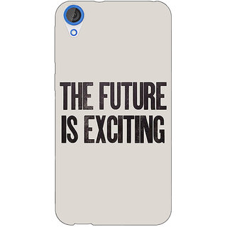 EYP Future Quote Back Cover Case For HTC Desire 820 Dual Sim 301205