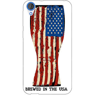 EYP USA Beer Back Cover Case For HTC Desire 820 Dual Sim 301213