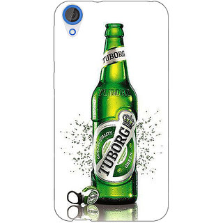 EYP Tuborg Beer Back Cover Case For HTC Desire 820 Dual Sim 301244