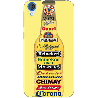 EYP Beer Bottle Back Cover Case For HTC Desire 820 Dual Sim 301248