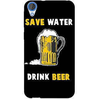 EYP Beer Quote Back Cover Case For HTC Desire 820 Dual Sim 301262
