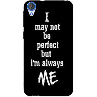 EYP Quote Back Cover Case For HTC Desire 820 Dual Sim 301289