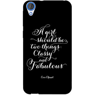 EYP Quote Back Cover Case For HTC Desire 820Q 291409