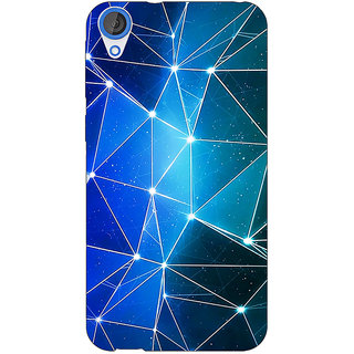 EYP Crystal Prism Back Cover Case For HTC Desire 820Q 291446