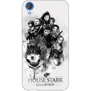 EYP Game Of Thrones GOT House Stark Back Cover Case For HTC Desire 820 Dual Sim 301541
