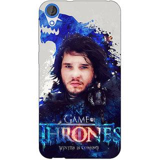 EYP Game Of Thrones GOT Jon Snow House Stark Back Cover Case For HTC Desire 820 Dual Sim 301548