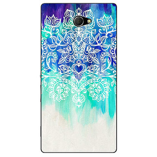 EYP Royal Queen Pattern Back Cover Case For Sony Xperia M2 310231