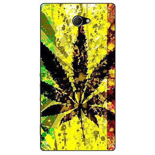 EYP Weed Marijuana Back Cover Case For Sony Xperia M2 310497