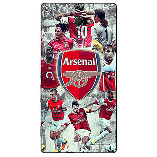EYP Arsenal Therry Henry Back Cover Case For Sony Xperia M2 310508