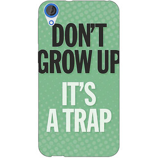 EYP Quote Back Cover Case For HTC Desire 820 Dual Sim 301348