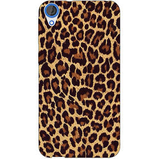 EYP Leopard Cheetah Pattern Back Cover Case For HTC Desire 820 Dual Sim 301387