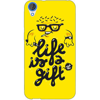 EYP Life Quote Back Cover Case For HTC Desire 820 Dual Sim 301415