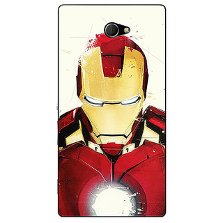 EYP Superheroes Ironman Back Cover Case For Sony Xperia M2 310023