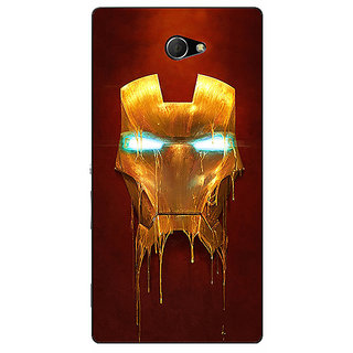 EYP Superheroes Ironman Back Cover Case For Sony Xperia M2 310025