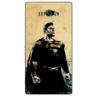 EYP Superheroes Superman Back Cover Case For Sony Xperia M2 310027