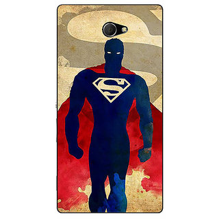 EYP Superheroes Superman Back Cover Case For Sony Xperia M2 310040