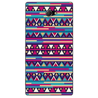 EYP Aztec Girly Tribal Back Cover Case For Sony Xperia M2 310052