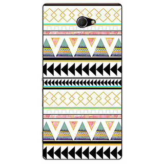 EYP Aztec Girly Tribal Back Cover Case For Sony Xperia M2 310067