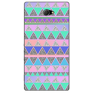 EYP Aztec Girly Tribal Back Cover Case For Sony Xperia M2 310068