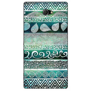 EYP Aztec Girly Tribal Back Cover Case For Sony Xperia M2 310076