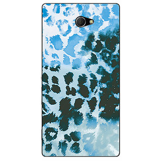 EYP Cheetah Leopard Print Back Cover Case For Sony Xperia M2 310086