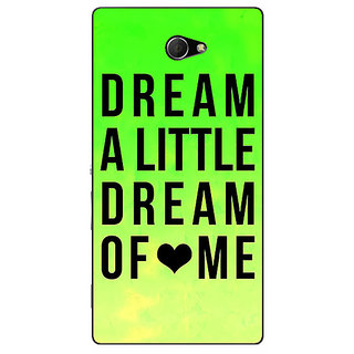 EYP Dream Love Back Cover Case For Sony Xperia M2 310092