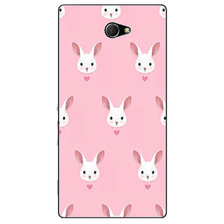EYP Rabbit Back Cover Case For Sony Xperia M2 310098