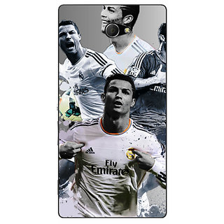 EYP Cristiano Ronaldo Real Madrid Back Cover Case For Sony Xperia M2 310307